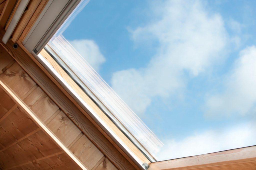 fenêtre de toit smart building