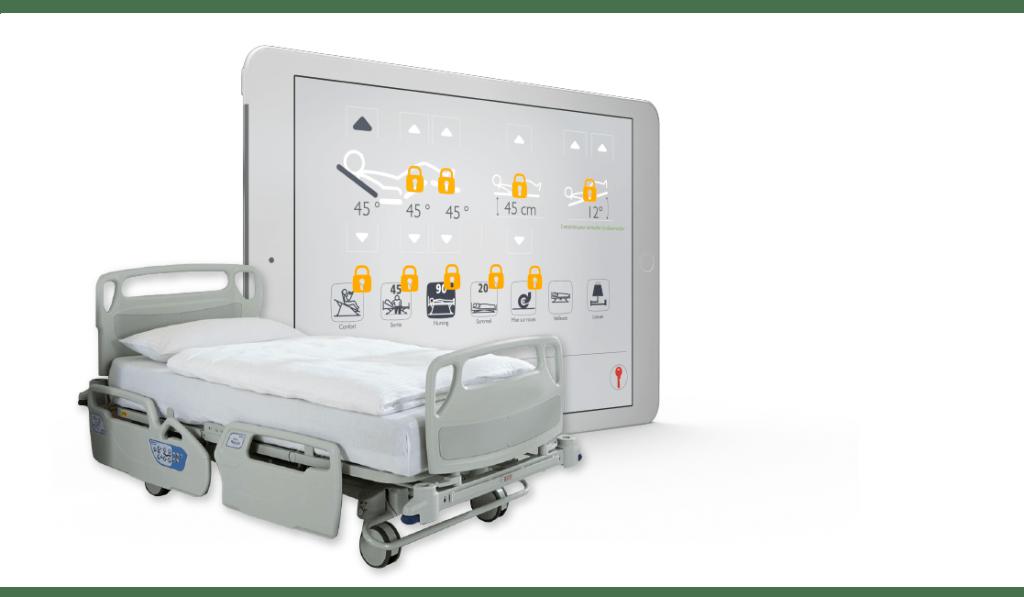 Chambre médicalisée intelligente