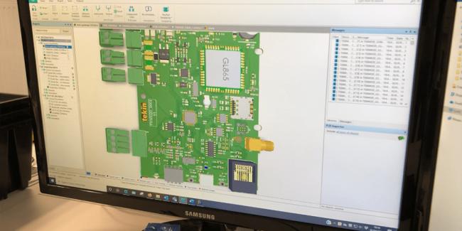 conception du circuit imprimé_3D_conception d'une carte électronique