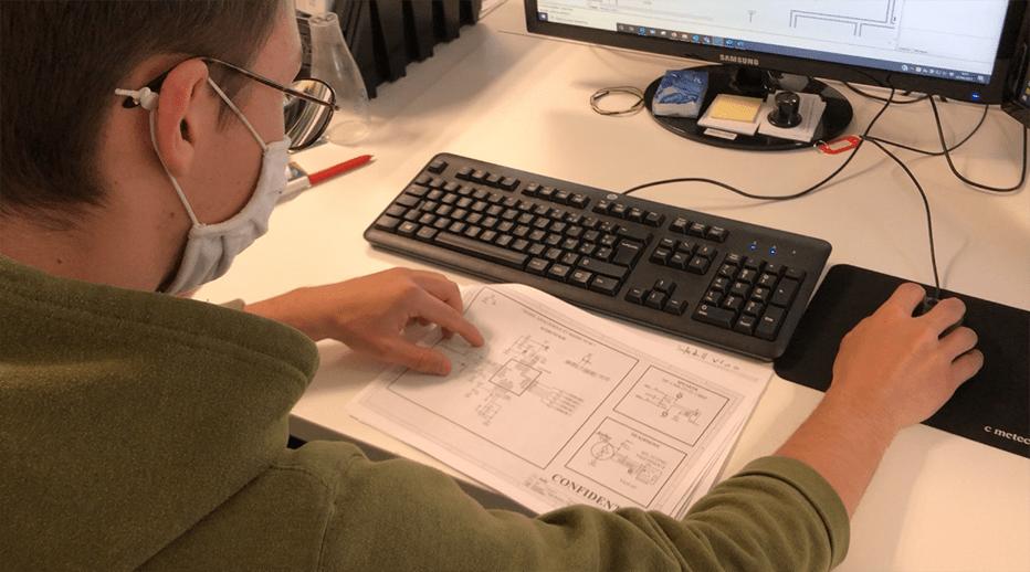 conception du circuit imprimé_saisie du schéma_conception d'une carte électronique