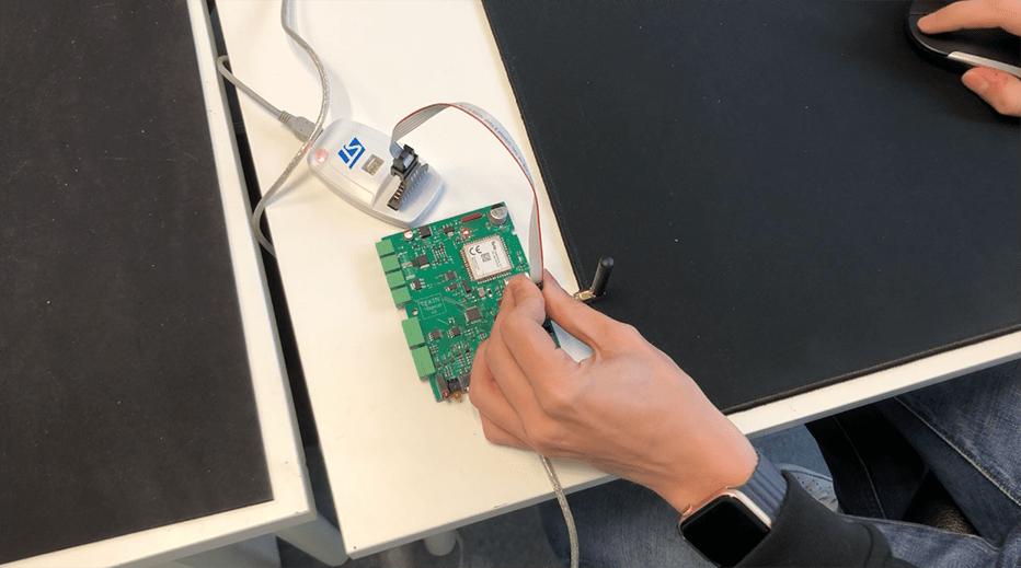 programmation de la carte électronique_conception d'une carte électronique