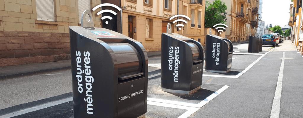 gestion intelligente des déchets